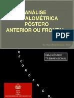 análise cefalométrica frontal II