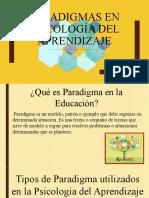Paradigmas de la Psicología del Aprendizaje