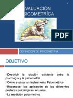 Def. Psicometría (1)