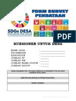 4. KUESIONER DESA SDGs DESA