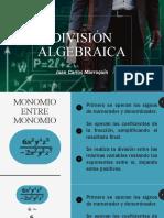 Guía 11. Matemática 1. División algebraica