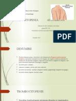 Trombocitopenie autoimuna