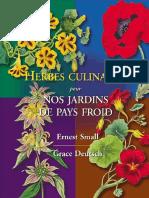 Small Ernest - Deutsch Grace - Herbes culinaires pour nos jardins de pays froid