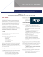 Fiber (TIA) Field Test Specification