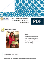 EvaluationPerformanceMeasurement-QualityImprovement