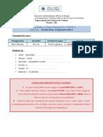 Sujet examen Rédaction Administrative S3 M2 CA (Hassaini)