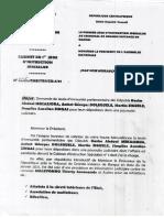 Enquête Bozizé et demande de levée d'immunité des députés