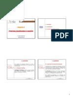 Chapitre 4 _ Prevision, planification et controle