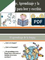 Lenguaje, Aprendizaje y La Capacidad Para Leer Final