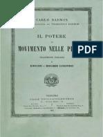 Charles Darwin - Il Potere Di Movimento Nelle Piante