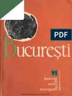 07 Bucuresti Materiale de Istorie Si Muzeografie VII 1969