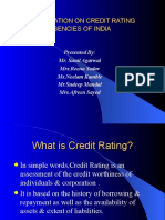 Credit Rating Agency of India