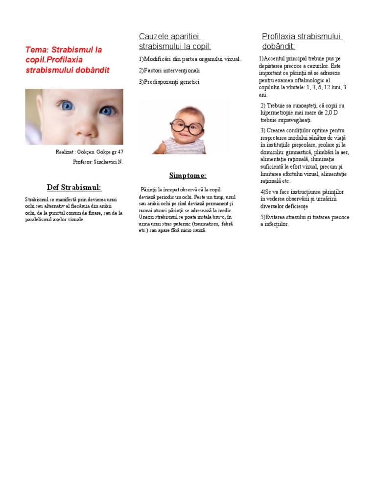 factori genetici în etiologia deficienței vizuale