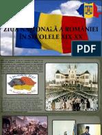 Neculai Florentina (Păun) Ziua Națională a României În Secolele Xix-xx