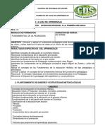 11. FUNDAMENTOS DE LA PEDAGOGIA- ACTUALIZADA