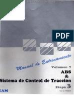 Manual Abs Sistema Frenos Antiboqueo Sistema Control Traccion Trc Partes Problemas