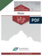 Music - 2020 Colorado Academic Standards
