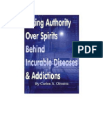 Authority over spirits of addiction