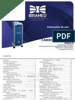 Manual Ares carboxiterapia com corrente high volt