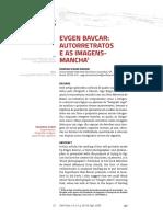 EVGEN BAVCAR - AUTORRETRATOS E AS IMAGENS-MANCHA