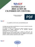 Materiales y Fabricación de Cilindros Sin Costura