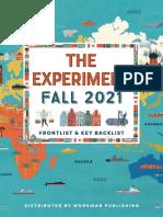 The Experiment Fall 2021 Catalog