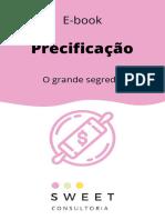 E-book Precificação Pão Delicia