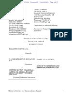 ADF Motion to Intervene and Memorandum in Support
