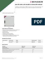 Data Sheet Model ED-S 056 es