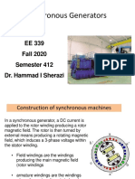 Ch # 4 - Synchronous Generator (Complete)