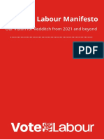 Redditch Labour Borough Council Manifesto 2021