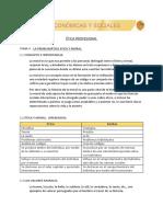 TEMA 3.   LA PROBLEMÁTICA ETICA Y MORAL. (1)