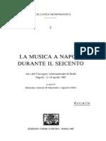 La Sambuca Lincea Di Fabio Colonna e Il