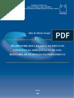 GURGEL, AM - Framework dos cenários de risco no contexto da implantação de uma refinaria de petróleo em Pernambuco