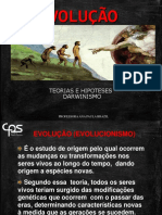 EVOLUCAO DARWIN  BIOLOGICA
