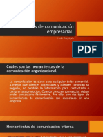 Instrumentos de comunicación empresarial clase