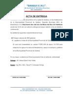 ACTA DE ENTREGA DAGGLE E.I.R.L. 2021 tanque cisterna