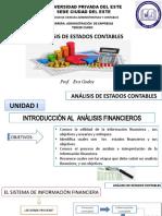 Presentación Unidad i 12-04-2021 Introdución Al Análisis Financieros