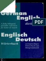 German English, English German Dictionary