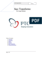pro-e surface_transforms