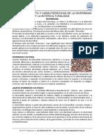 05. Tema 5 Concepto y Características de La Diversidad y La Interculturalidad