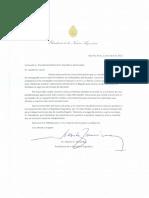La carta de Alberto Fernández a Lasso