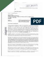 233615614 Oficio Fiscalia Prevencion Del Delito Tacna Elecciones Colegio de Profesores