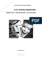 Homenaje Al Teatro Argentino