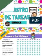 REGISTRO DE TAREAS