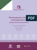 El potencial no incluido por la modernidad En Pensamientos críticos contemporáneos. (2)