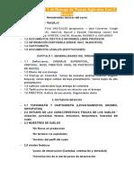 Parcial 1 de Drenaje de Tierras Agrícolas (UNALMED)