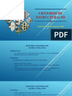 AUCATOMA H. JOEL - CRITERIOS DE ESTRUCTURACION