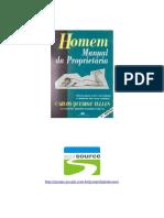Homem - Manual Da Proprietaria