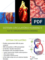 Aula Sistema Circulatório II
